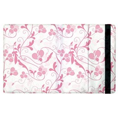 Floral Pattern Apple Ipad 3/4 Flip Case by Valentinaart