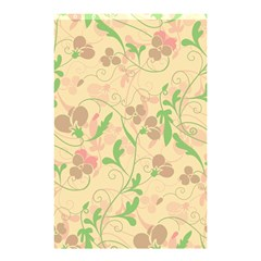 Floral Pattern Shower Curtain 48  X 72  (small)  by Valentinaart