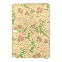 Floral Pattern Samsung Galaxy Tab Pro 10 1 Hardshell Case by Valentinaart