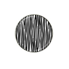 Zebra Pattern Hat Clip Ball Marker (10 Pack) by Valentinaart