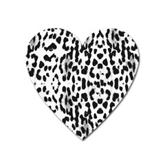 Animal Print Heart Magnet by Valentinaart