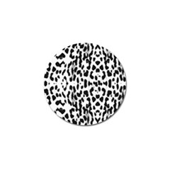Animal Print Golf Ball Marker (4 Pack) by Valentinaart