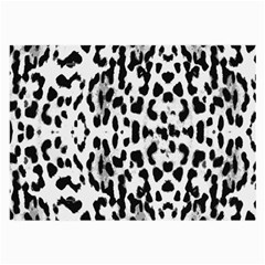 Animal Print Large Glasses Cloth (2 Side) by Valentinaart