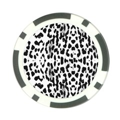 Animal Print Poker Chip Card Guard by Valentinaart