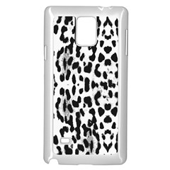 Animal Print Samsung Galaxy Note 4 Case (white) by Valentinaart