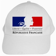 Symbol Of The French Government White Cap by abbeyz71