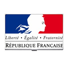 Symbol Of The French Government Business Card Holders