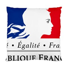 Symbol Of The French Government Standard Cushion Case (one Side) by abbeyz71