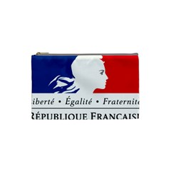 Symbol Of The French Government Cosmetic Bag (small)  by abbeyz71