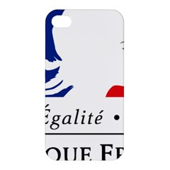 Symbol Of The French Government Apple Iphone 4/4s Premium Hardshell Case by abbeyz71