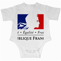 Symbol Of The French Government Infant Creepers