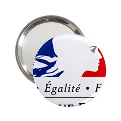 Symbol Of The French Government 2 25  Handbag Mirrors by abbeyz71