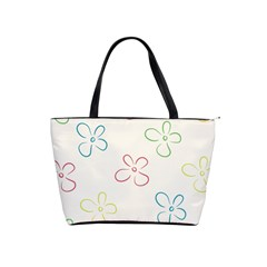 Flower Background Nature Floral Shoulder Handbags