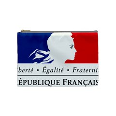 Symbol Of The French Government Cosmetic Bag (medium)  by abbeyz71