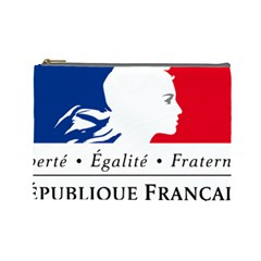 Symbol Of The French Government Cosmetic Bag (large)  by abbeyz71