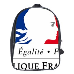 Symbol Of The French Government School Bags(large)  by abbeyz71