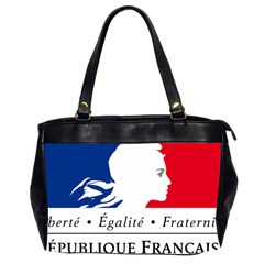 Symbol Of The French Government Office Handbags (2 Sides)  by abbeyz71