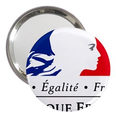 Symbol Of The French Government 3  Handbag Mirrors by abbeyz71