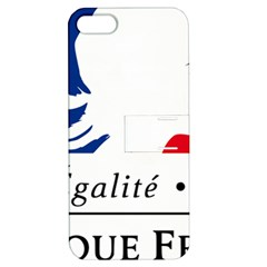 Symbol Of The French Government Apple Iphone 5 Hardshell Case With Stand by abbeyz71
