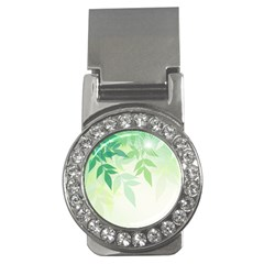 Spring Leaves Nature Light Money Clips (cz)  by Simbadda