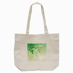 Spring Leaves Nature Light Tote Bag (cream)