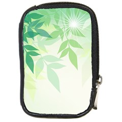 Spring Leaves Nature Light Compact Camera Cases by Simbadda