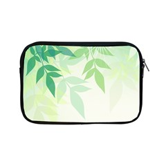 Spring Leaves Nature Light Apple Ipad Mini Zipper Cases by Simbadda