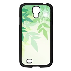 Spring Leaves Nature Light Samsung Galaxy S4 I9500/ I9505 Case (black) by Simbadda