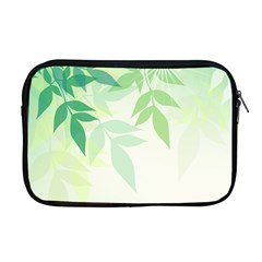 Spring Leaves Nature Light Apple Macbook Pro 17  Zipper Case by Simbadda