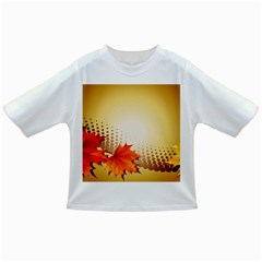 Background Leaves Dry Leaf Nature Infant/toddler T Shirts by Simbadda
