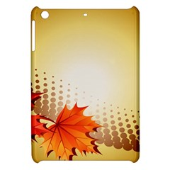 Background Leaves Dry Leaf Nature Apple Ipad Mini Hardshell Case