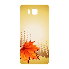 Background Leaves Dry Leaf Nature Samsung Galaxy Alpha Hardshell Back Case