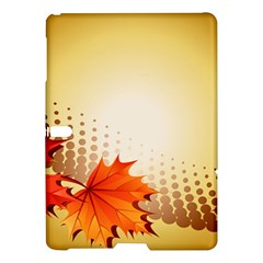 Background Leaves Dry Leaf Nature Samsung Galaxy Tab S (10 5 ) Hardshell Case  by Simbadda