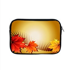 Background Leaves Dry Leaf Nature Apple Macbook Pro 15  Zipper Case by Simbadda