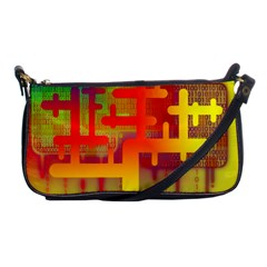 Binary Binary Code Binary System Shoulder Clutch Bags by Simbadda