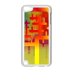 Binary Binary Code Binary System Apple Ipod Touch 5 Case (white) by Simbadda