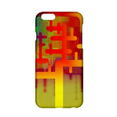 Binary Binary Code Binary System Apple Iphone 6/6s Hardshell Case by Simbadda