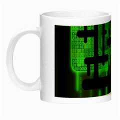 Binary Binary Code Binary System Night Luminous Mugs by Simbadda