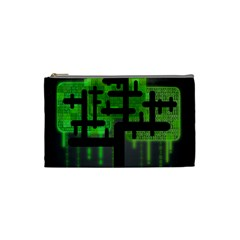 Binary Binary Code Binary System Cosmetic Bag (small)
