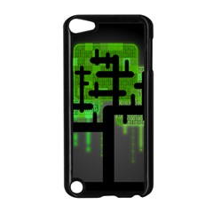 Binary Binary Code Binary System Apple Ipod Touch 5 Case (black) by Simbadda