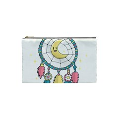 Cute Hand Drawn Dreamcatcher Illustration Cosmetic Bag (small)  by TastefulDesigns