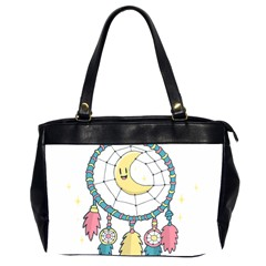 Cute Hand Drawn Dreamcatcher Illustration Office Handbags (2 Sides)  by TastefulDesigns