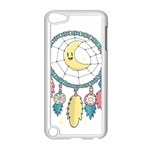 Cute Hand Drawn Dreamcatcher Illustration Apple iPod Touch 5 Case (White) Front