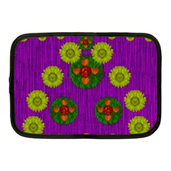 Buddha Blessings Fantasy Netbook Case (medium)  by pepitasart