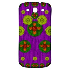 Buddha Blessings Fantasy Samsung Galaxy S3 S Iii Classic Hardshell Back Case by pepitasart