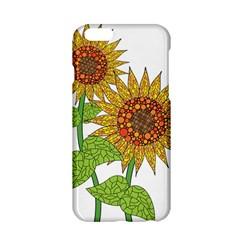 Sunflowers Flower Bloom Nature Apple Iphone 6/6s Hardshell Case by Simbadda