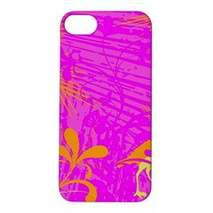 Spring Tropical Floral Palm Bird Apple Iphone 5s/ Se Hardshell Case by Simbadda