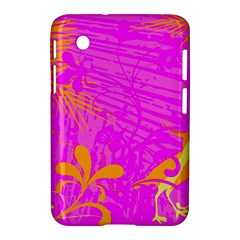 Spring Tropical Floral Palm Bird Samsung Galaxy Tab 2 (7 ) P3100 Hardshell Case