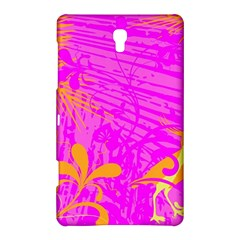 Spring Tropical Floral Palm Bird Samsung Galaxy Tab S (8 4 ) Hardshell Case