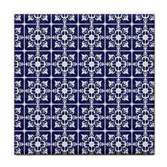 Leaves Horizontal Grey Urban Tile Coasters by Simbadda